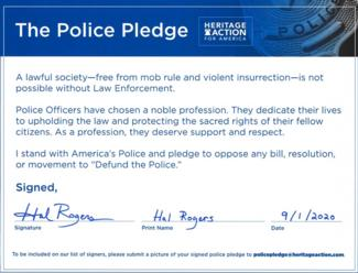 The Police Pledge