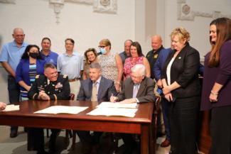 Coal Run Section 202 Signing