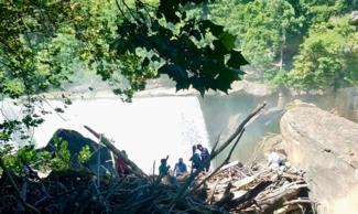 Cumberland Falls Cleanup 2020