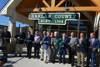 Harlan County Ribbon-Cutting